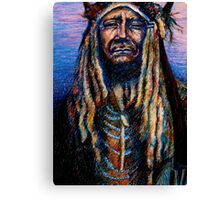 Regal Native American Canvas Print