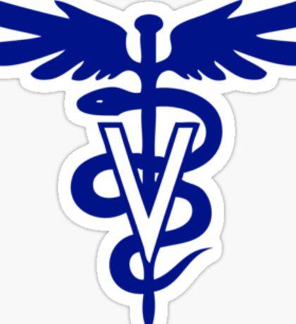 veterinary logo 1 Sticker