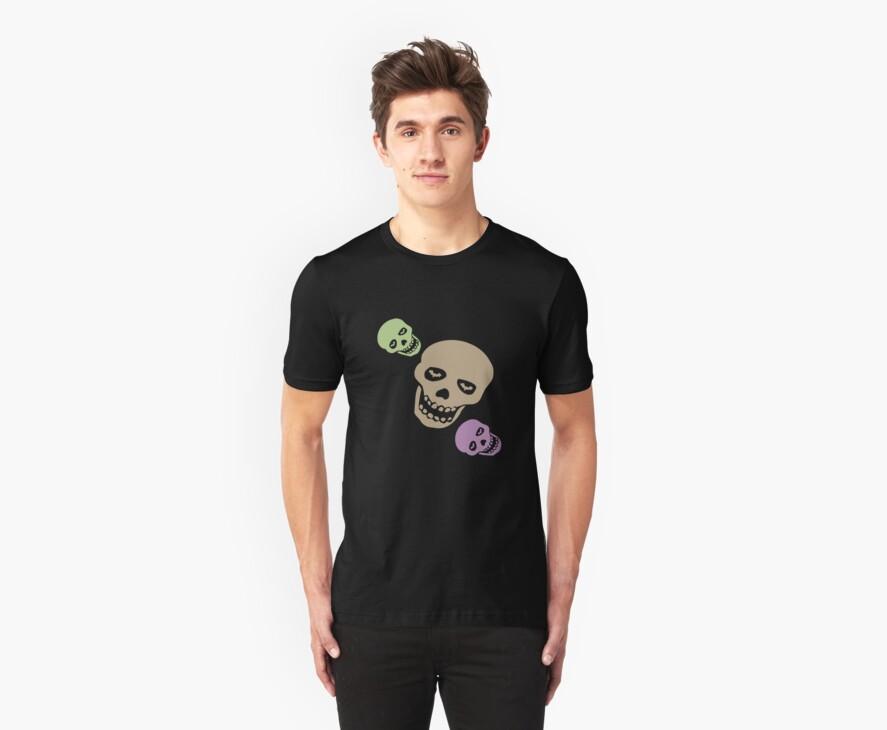 Skull T-Shirt by simpsonvisuals