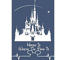 Home is Where the Park Is Photographic Print