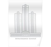 Renaissance Center Poster