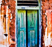 Green Door by John Corney
