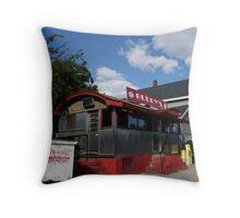 Buddy's, Somerville, MA Throw Pillow