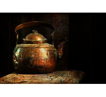 Put the Kettle On Photographic Print