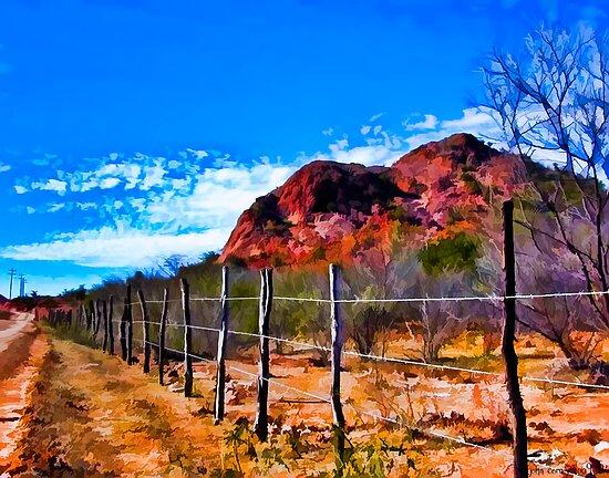 Desertscape #4 by John Corney