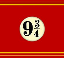 9 3/4 - Red & Yellow by Serdd