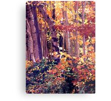The Woods are Ablaze Metal Print