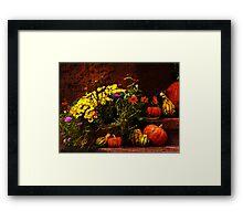 Ready for fall Holidays Framed Print