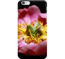 Midnight Peony iPhone Case/Skin