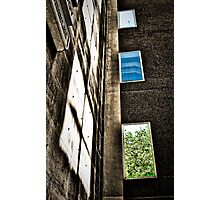 ...civic reflections... Photographic Print