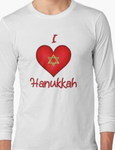 iHeart Hanukkah  Long Sleeve T-Shirt
