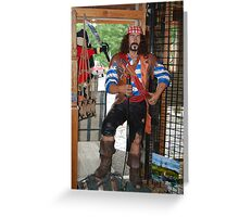 The other Swashbuckler Greeting Card