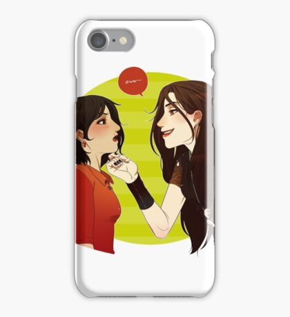 EATYOUALIVE Red Queen iPhone Case/Skin