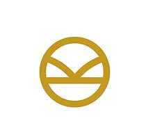 KINGSMAN · Golden Logo on white by averageameba