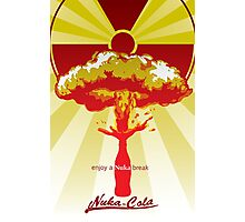 fallout new vegas nuka advertising Photographic Print