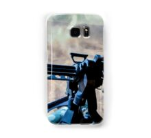 The Gunner - Digital Art / Helicopter Gunner - War / Military Samsung Galaxy Case/Skin