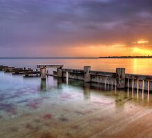 Mentone Sunset by Alex Stojan