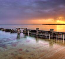 Mentone Sunset by Alex Stojan
