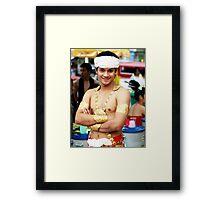 Gold, Chiang Mai, Thailand Framed Print