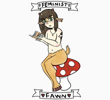 Feminist Fawn Womens Fitted T-Shirt