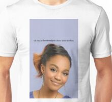 '' oh hey its china anne mclain / lovefromliyax' design - Lovefromliyax Unisex T-Shirt
