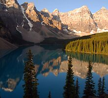 Moraine Lake - Banff National Park, Canada by Barbara Burkhardt