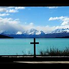 Lake Tekapo from Church of the Good Shepherd by chriso