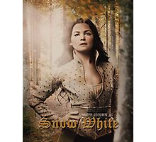 Movie Poster Style - Snow / Ginny Photographic Print