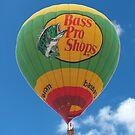 Bass Pro Shop Hot Air Balloon by Brad Sumner