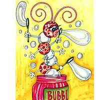 Bubbly Caterpillar Photographic Print