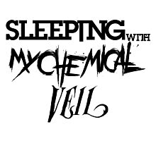 Sleeping with my Chemical Veil Photographic Print