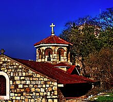 Medieval Church St Petka Kalemegdan Belgrade by stockfineart
