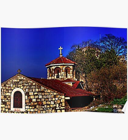Medieval Church St Petka Kalemegdan Belgrade Poster