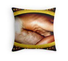 Adam Egg Throw Pillow