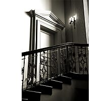 The Door At The Top Of The Stairs Photographic Print
