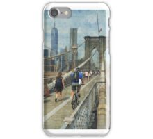 At the Bridge iPhone Case/Skin