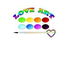 LOVE ART/  Art + Products Design  Photographic Print