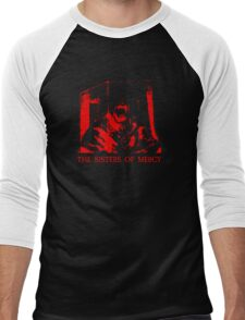 The Sisters Of Mercy - The Worlds End - Body Electric - Adrenochrome Men's Baseball ¾ T-Shirt