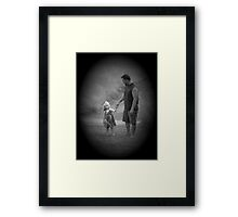 Come On Daddy Framed Print