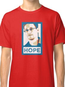 Edward Snowden is HOPE Classic T-Shirt