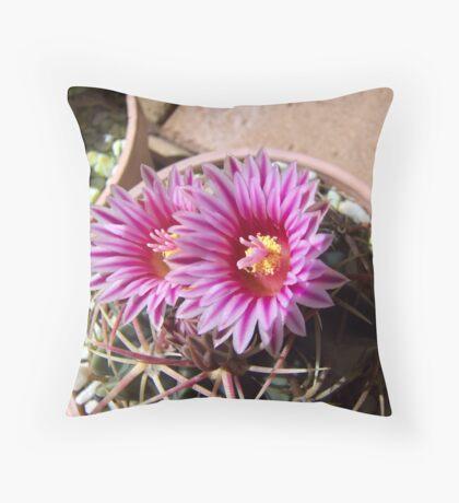 Spring Flowers Feb Throw Pillow