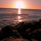 Sunset at Cottesloe Beach by Leanne Allen