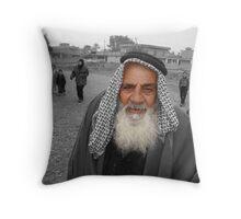 Iraqi Sheikh Throw Pillow
