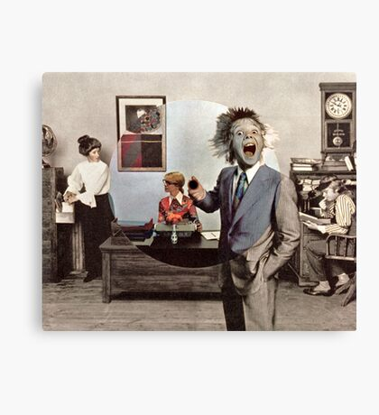 Uncle Bobs Office Party 2. Canvas Print