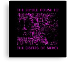 The Sisters Of Mercy - The Worlds End - The Reptile House Canvas Print