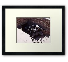 House Clearing (2) Framed Print