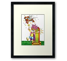 Regal Wizard Framed Print