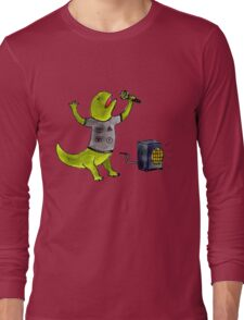 Karaoke Newt Long Sleeve T-Shirt