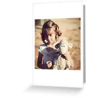 Sheepy and me Greeting Card