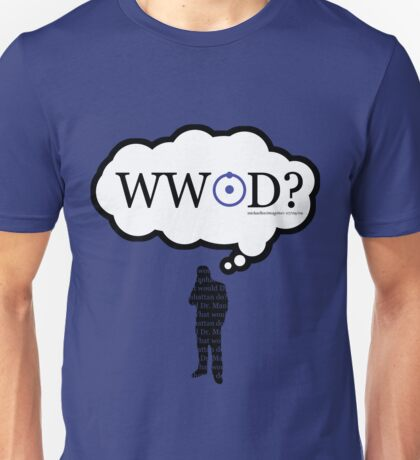 What Would John Do? Silhouette variant Unisex T-Shirt